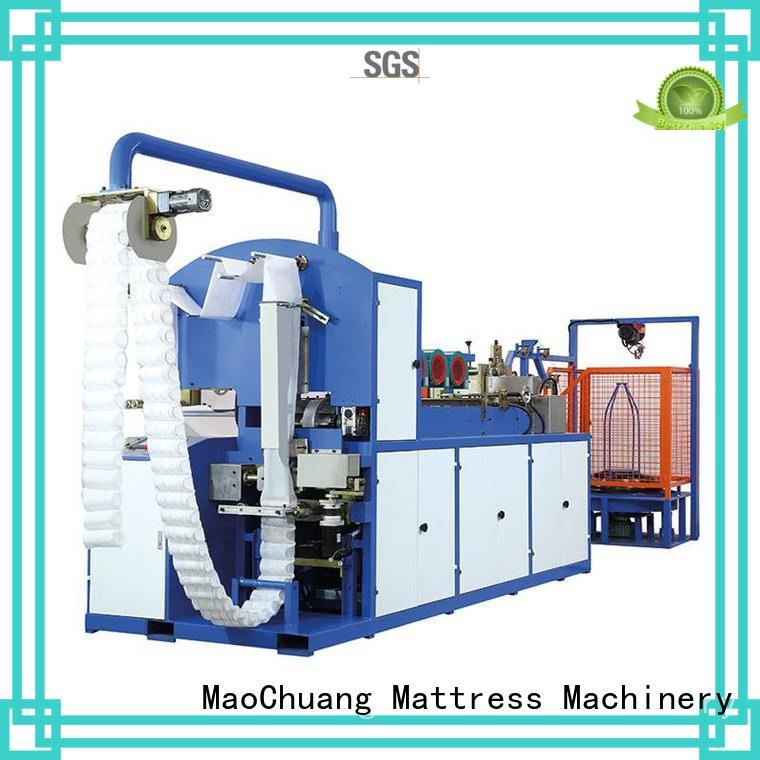Automatic Pocket Spring Machine cutter mczjd081 Automatic High Speed Pocket Spring Machine manufacture