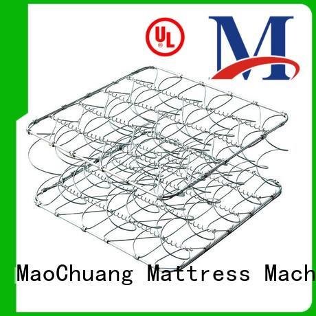 bed mattress orthopedic spring unit MaoChuang Mattress Machinery manufacture