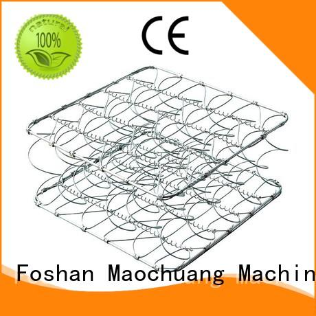 perfect open coil spring unit bagged for room Maochuang Mattress Machinery