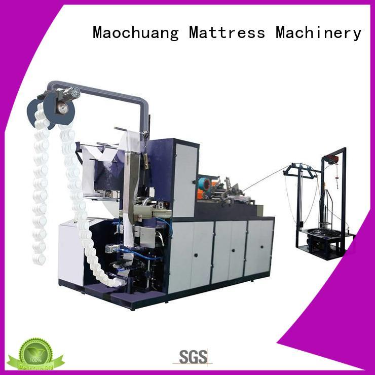 automatic Automatic Pocket Spring Production Line spring for cold environment Maochuang Mattress Machinery