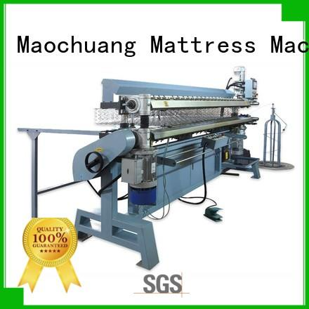durable automatic spring making machine with simple operation for producing mattress spring bed net