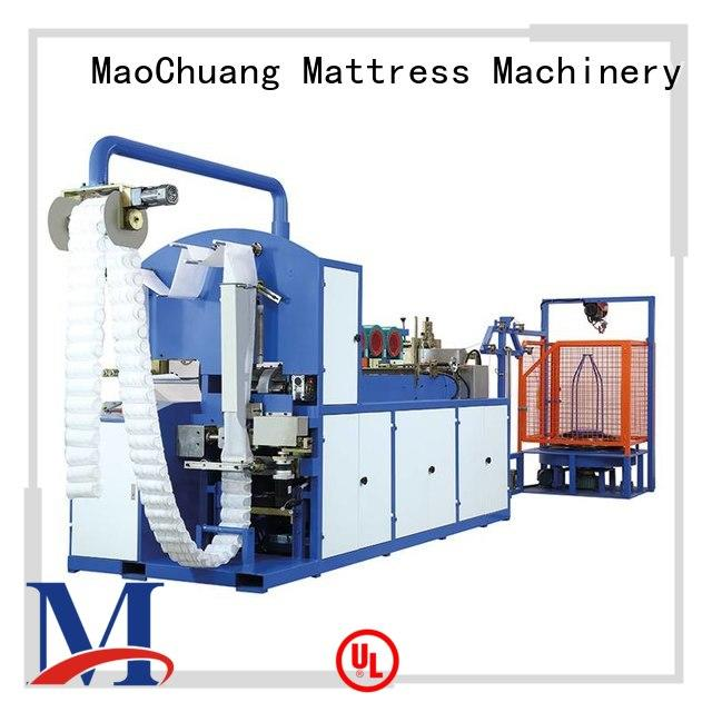 Wholesale line Automatic Pocket Spring Machine assembly MaoChuang Mattress Machinery Brand