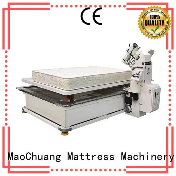 turnover tape edge machine parts with stable operation for indoor Maochuang Mattress Machinery