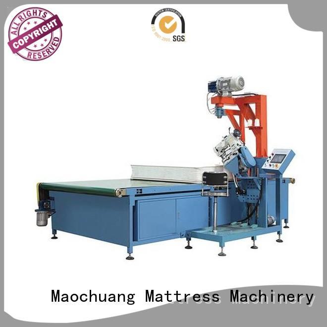 arm control tape edge machine Maochuang Mattress Machinery manufacture