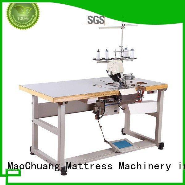 arm trademark automatic sewing machine MaoChuang Mattress Machinery