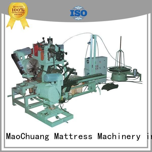 MaoChuang Mattress Machinery Brand control trademark pf300u bonnell spring machine manufacture