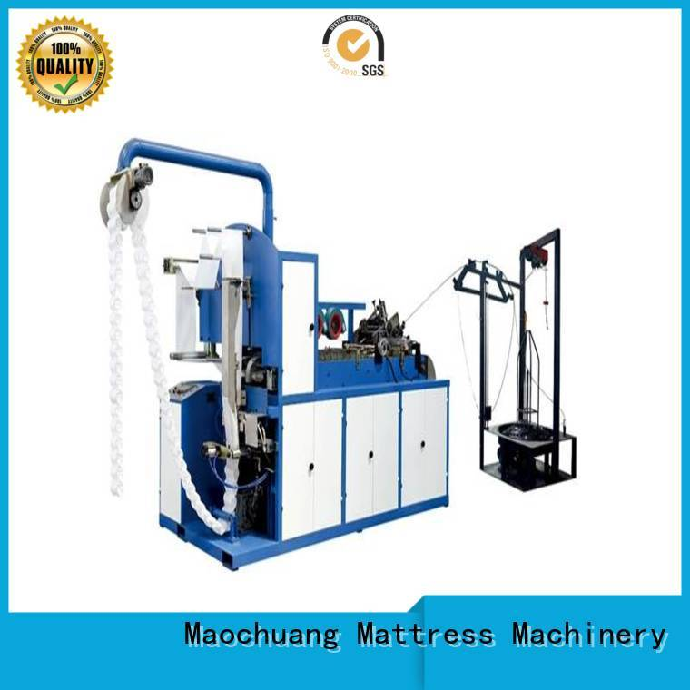 cylinder Pocket spring coiling machine easy to handle for non-gas environment Maochuang Mattress Machinery